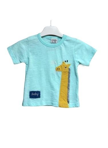 Cigit Cigit T-Shirt Erkek Bebek Mavi